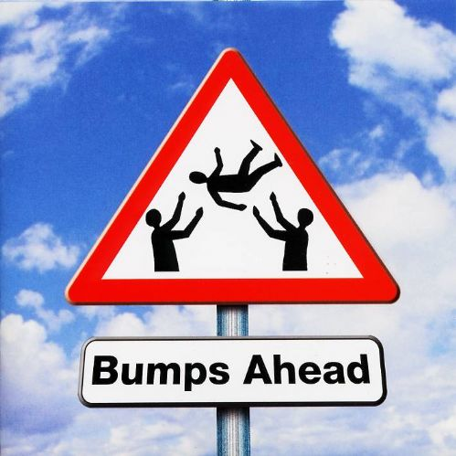 Happy Birthday Card - Bumps Ahead